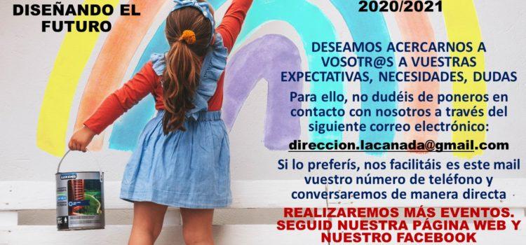 INFORMACIÓN: PROCESO DE ADMISIÓN DE ALUMNOS PARA EL CURSO 2020/21